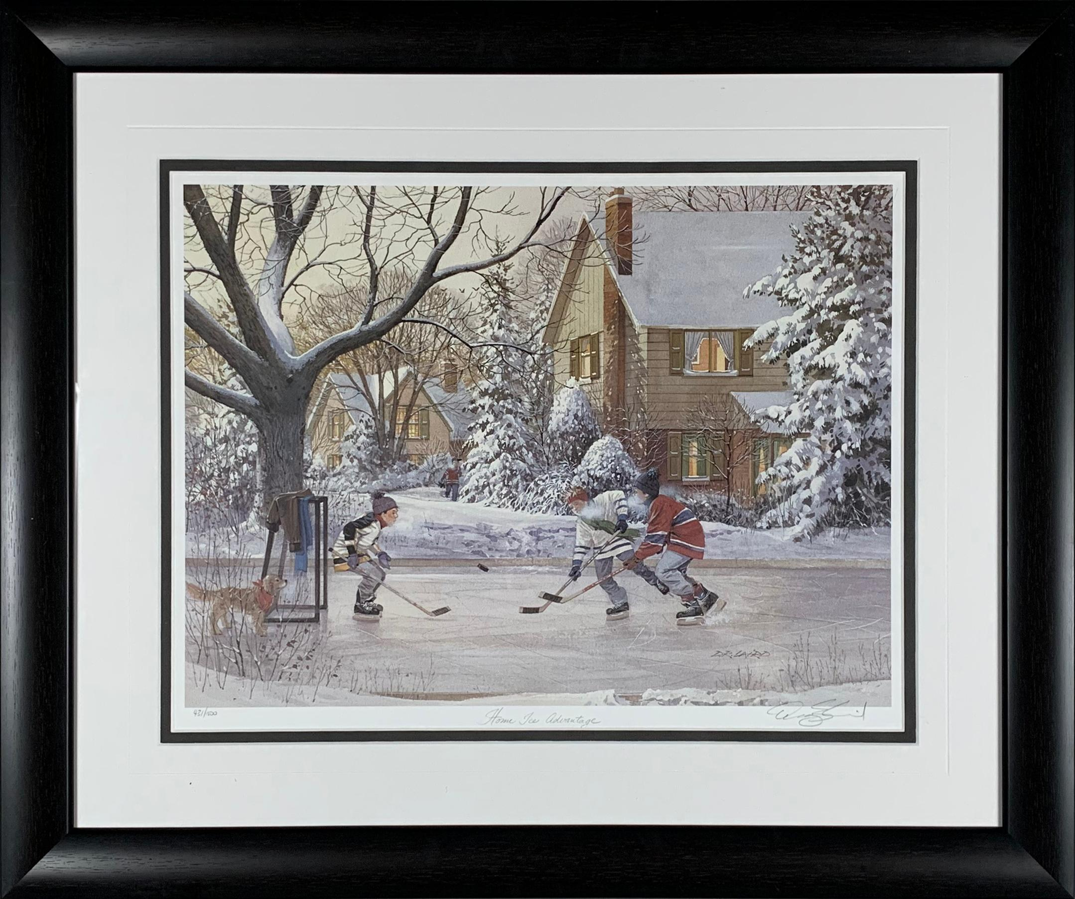 "Doug Laird's ""Home Ice Advantage"" Limited Edition Print"