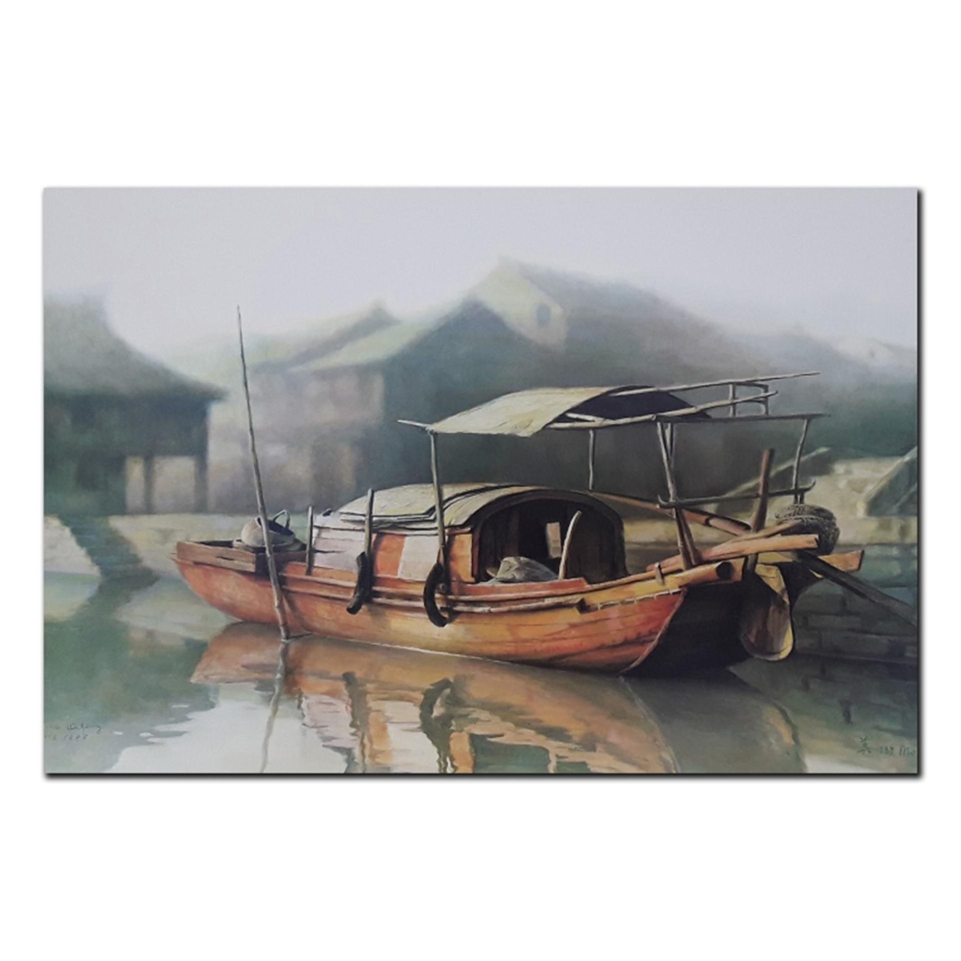 "Mo DaFeng's ""Family Boat"" Limited Edition Print"