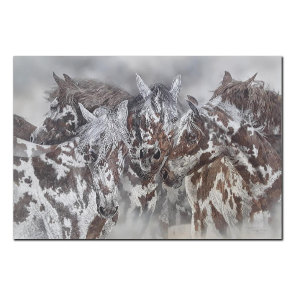 """Judy Larson's """"The Packherd"""" Limited Edition Print"""