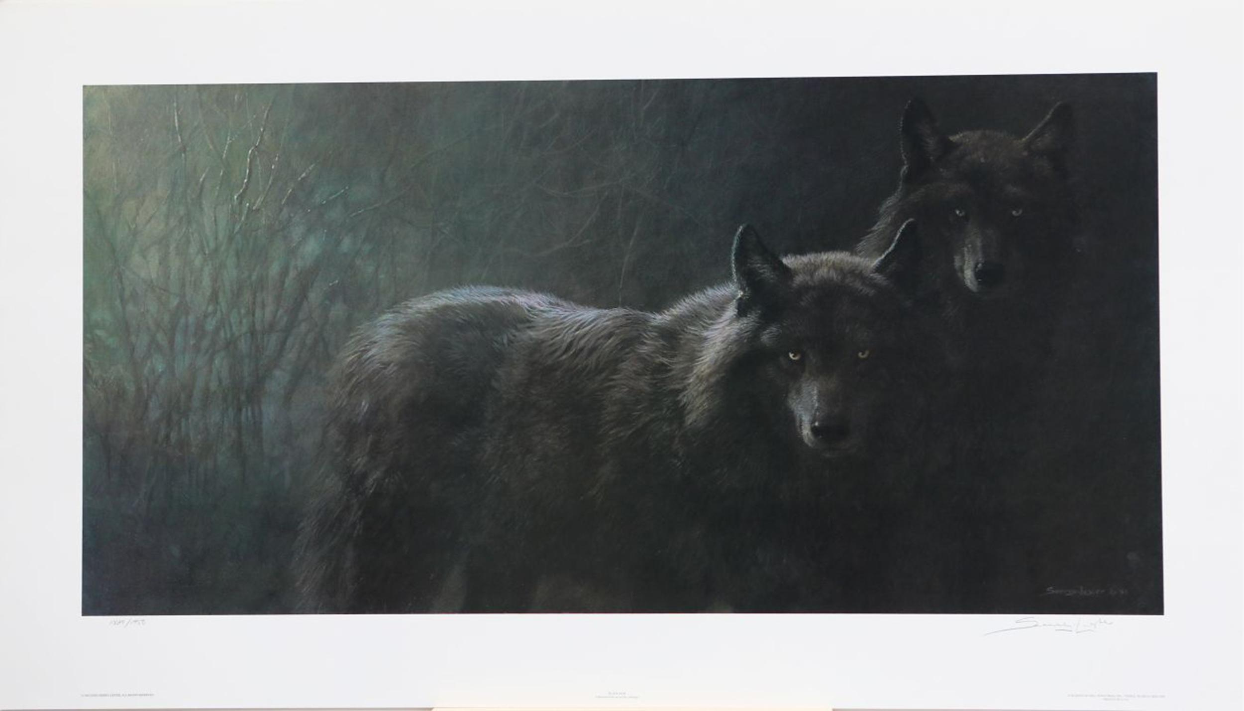 "John Seerey-Lester's ""Black Jade"" Limited Edition Print"
