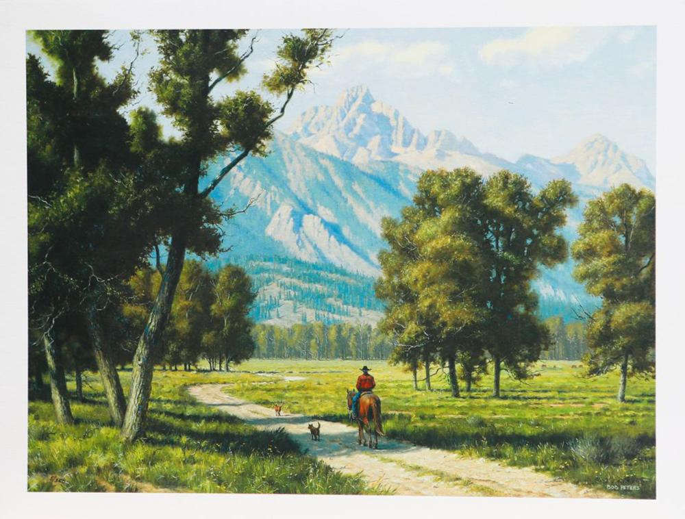 "Bob Peters' ""One Fine Day"" Limited Edition Print"