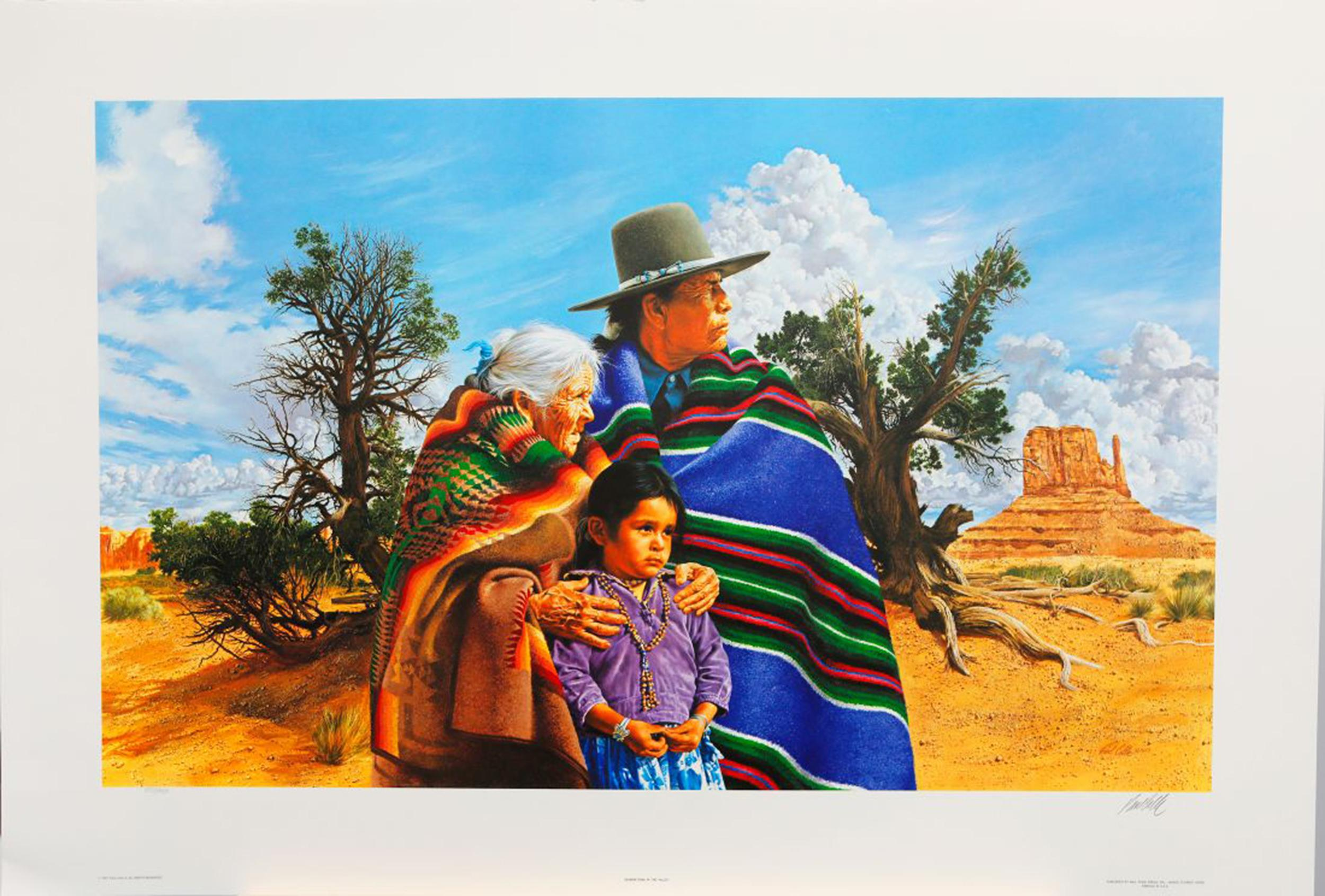 """Paul Calle's """"Generations In The Valley"""" Limited Edition Print"""