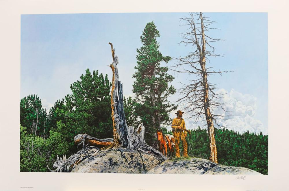 """Paul Calle's """"One With The Land"""" Limited Edition Print"""