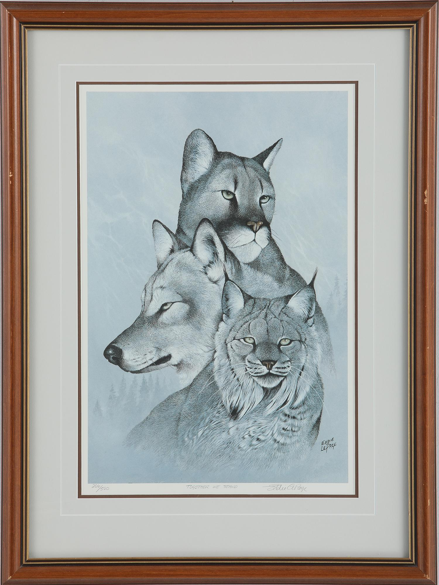 """Eddie Le Page's """"Together We Stand"""" Limited Edition Print"""