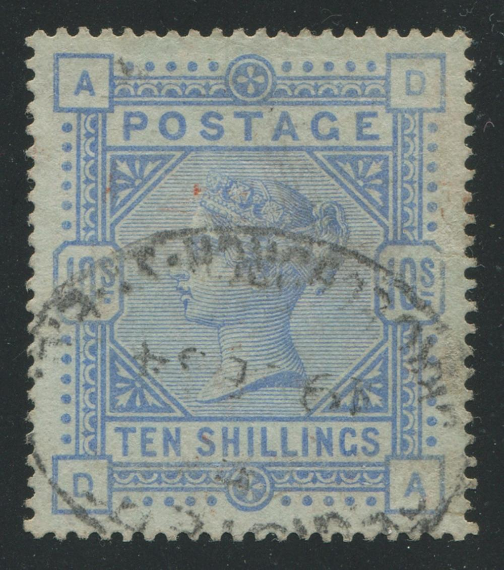 Great Britain 1884 #109b Bluish Paper VF