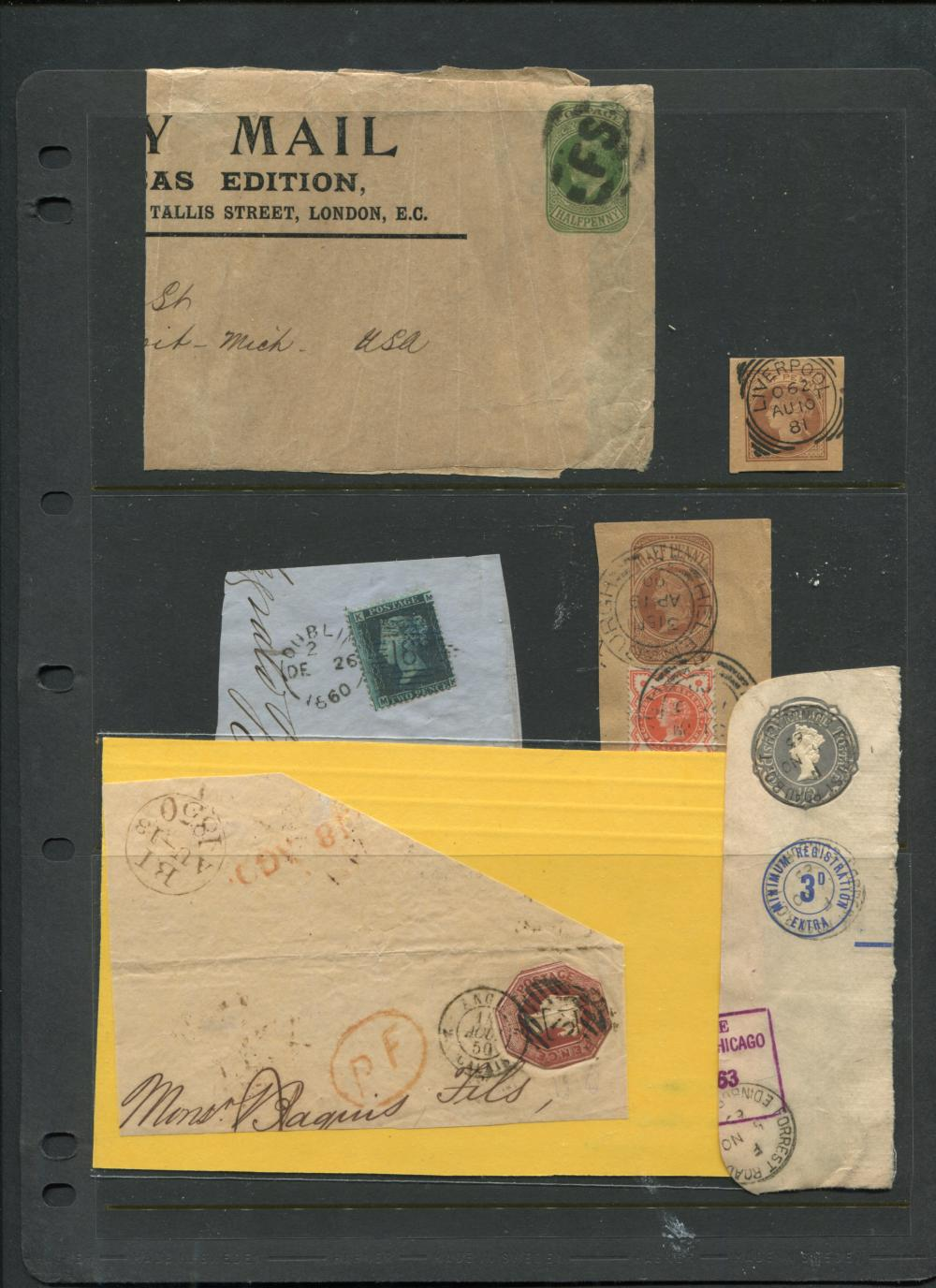Great Britain 1848 #A3 Stamp Cover
