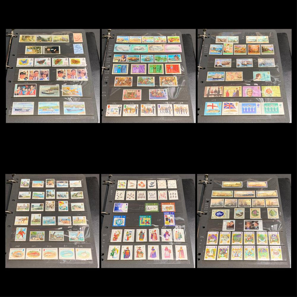 Guernsey Stamp Collection MNH