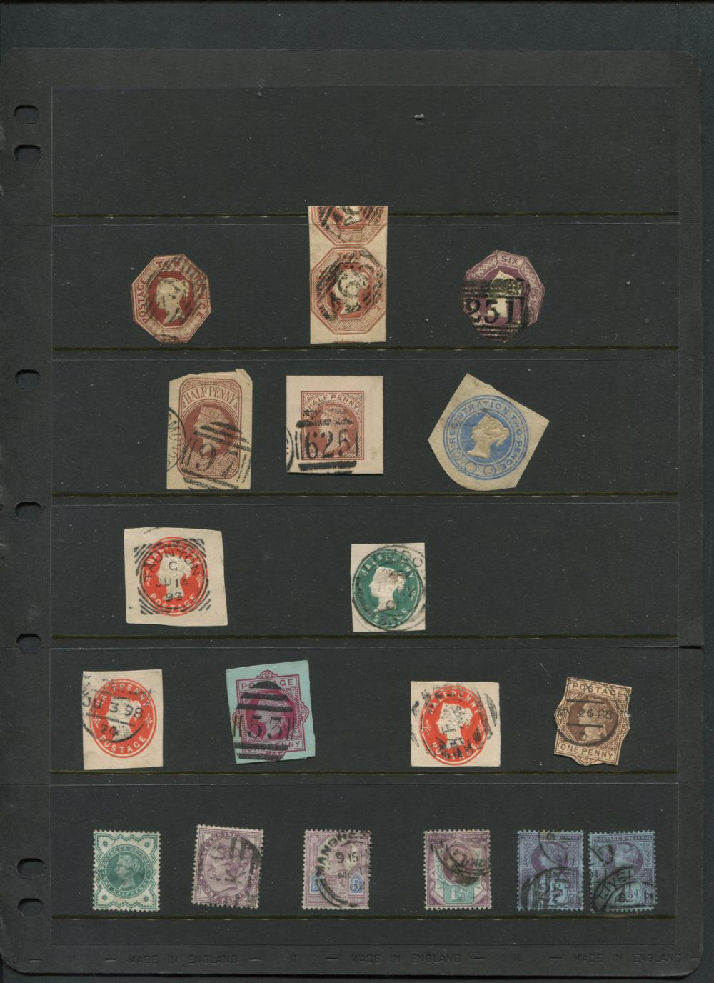 Great Britain 1854 #7 6p Collection