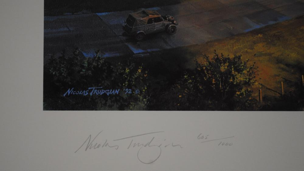 """Nicholas Trudgian's """"In Defense of The Reich"""" Limited Edition Print"""