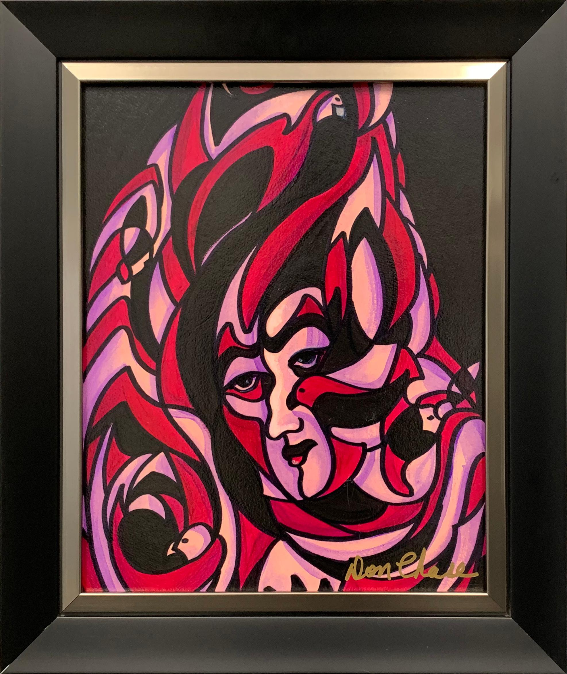 """Don Chase's """"Look Behind The Mask"""" Original"""