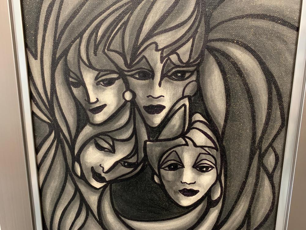 """Don Chase's """"The Four Winds"""" Original"""