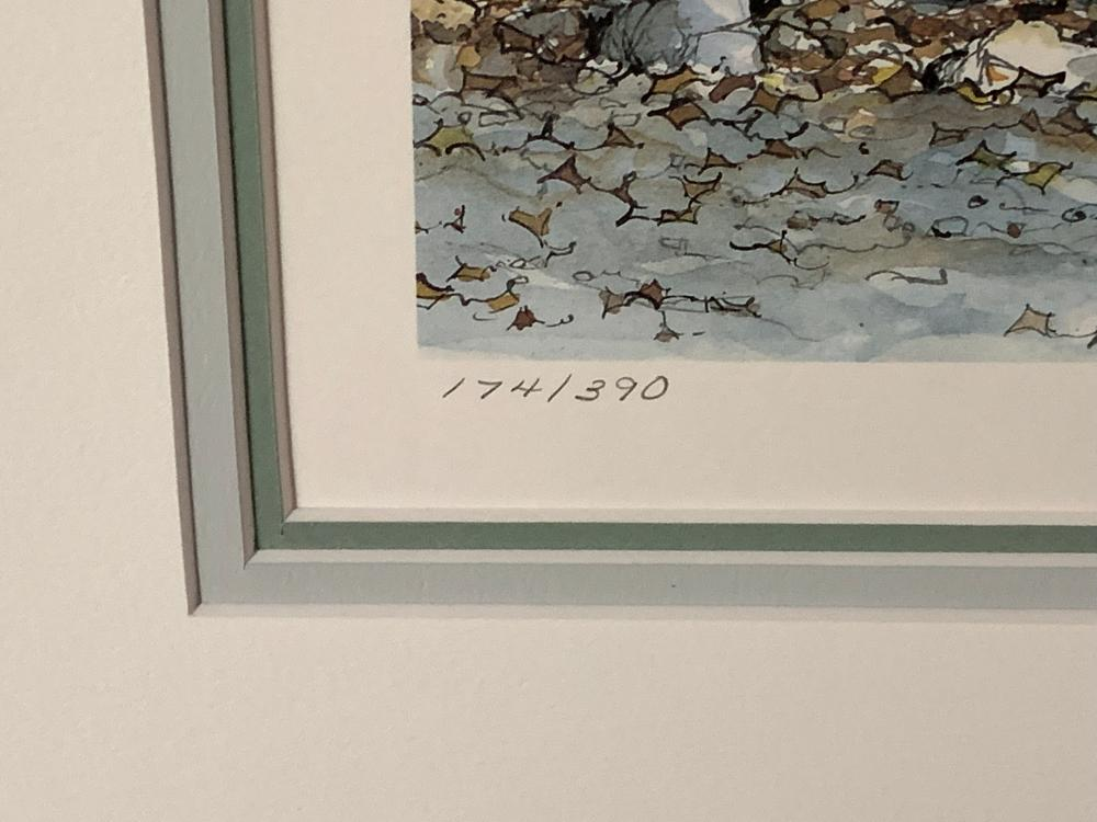 """Laura Berry's """"Fallen Leaves"""" Limited Edition Print"""