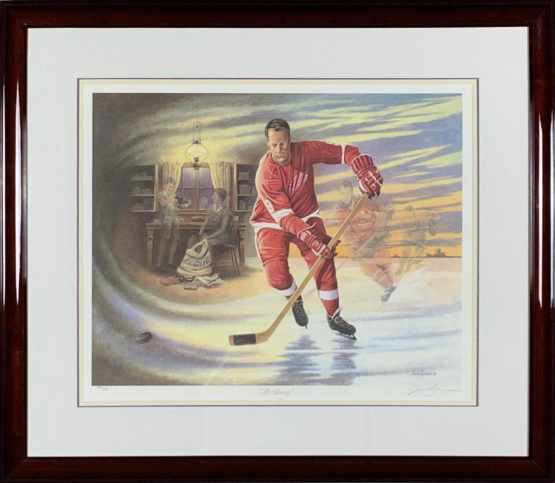 "James Lumbers' ""Mr. Hockey"" Limited Edition Print"