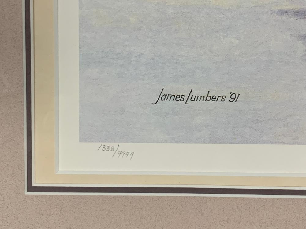 "James Lumbers' ""A Boy and His Dream"" Limited Edition Print"