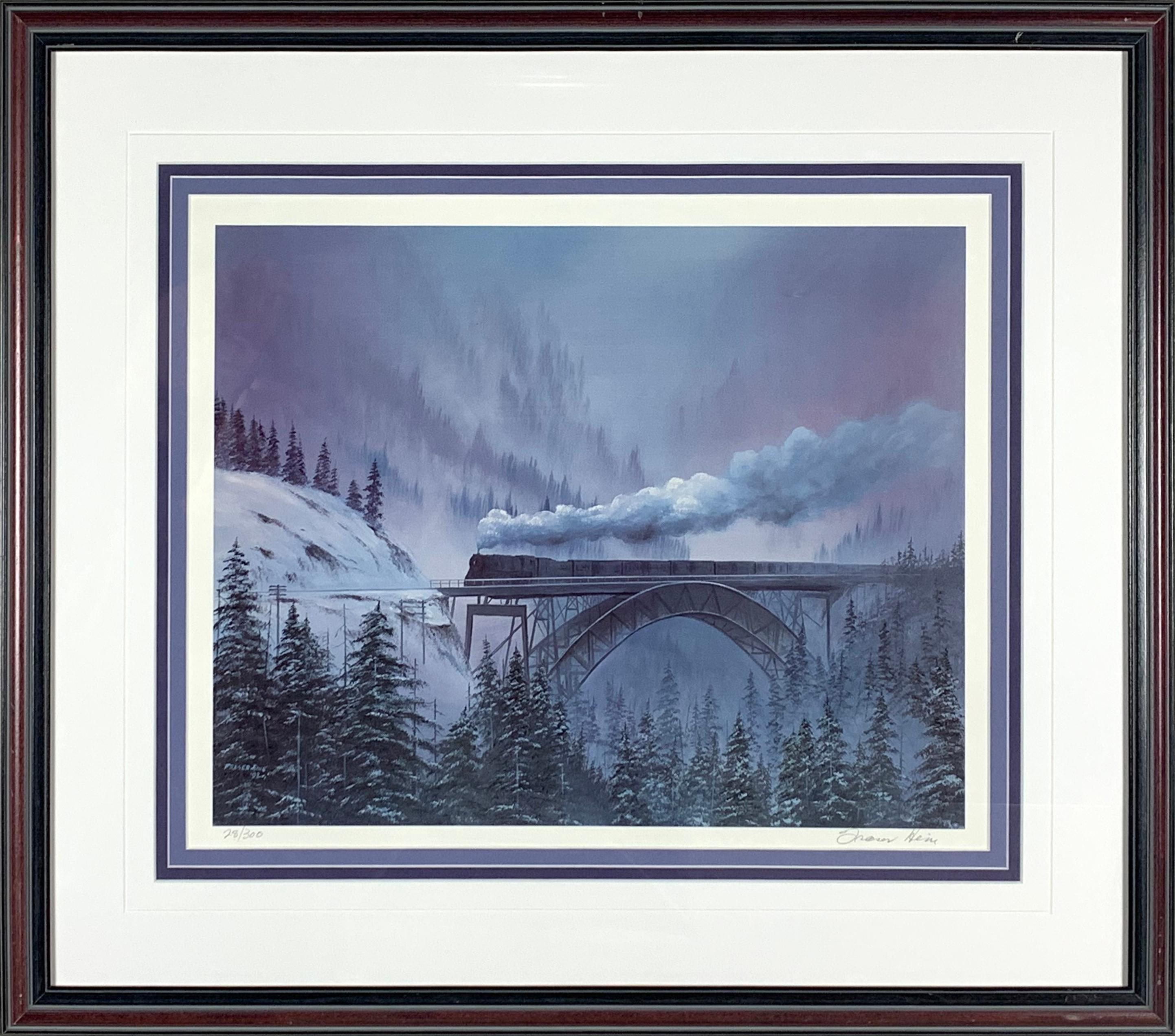 """Fraser Hine's """"Misty Morning Steam"""" Limited Edition Print"""