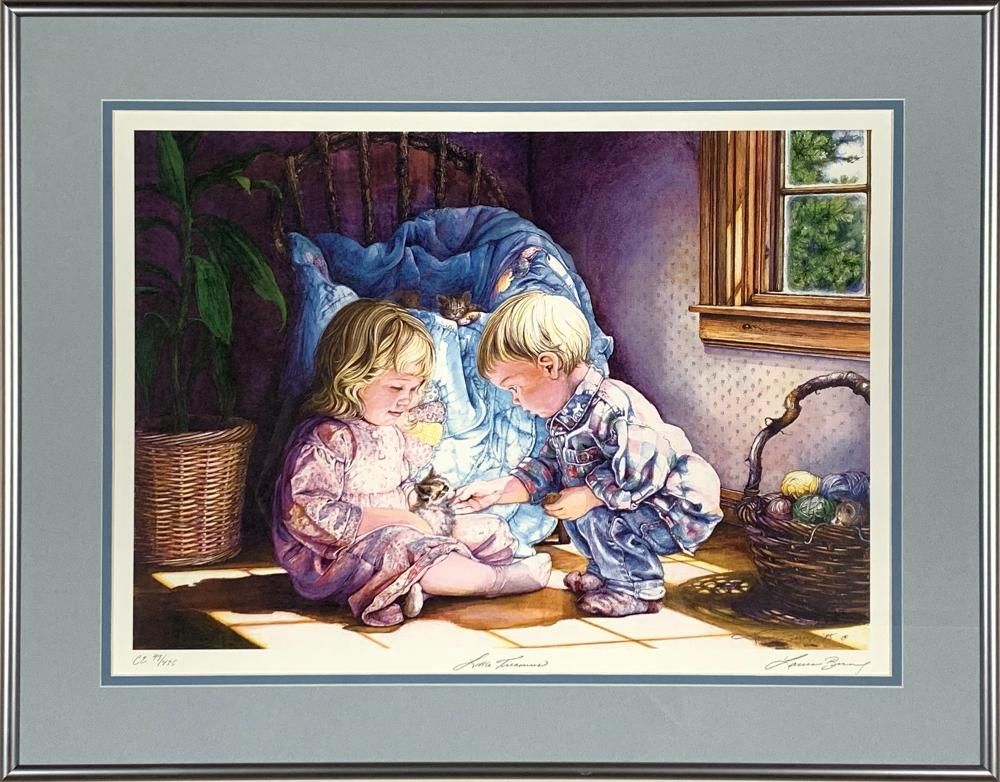 """Laura Berry's """"Little Treasures"""" Limited Edition Print"""