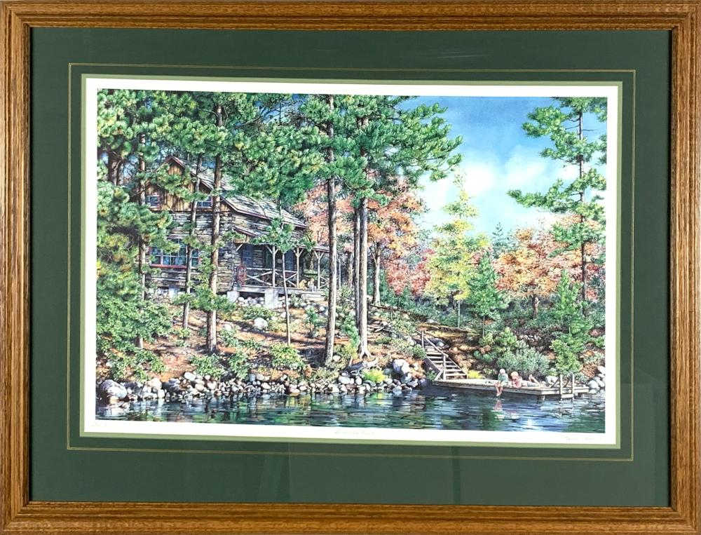 """Laura Berry's """"Among The Pines"""" Limited Edition Print"""