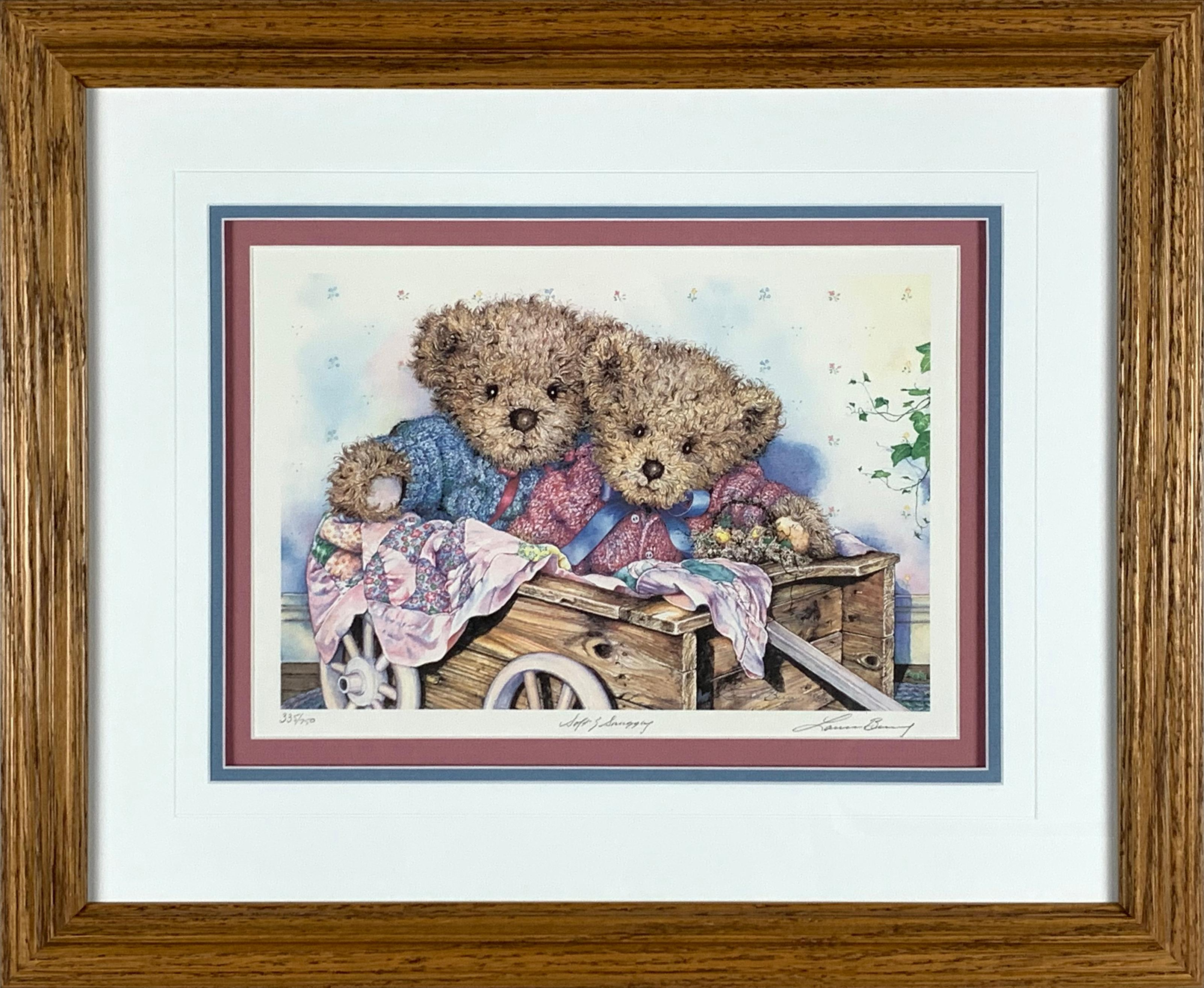 """Laura Berry's """"Soft & Snuggly"""" Limited Edition Print"""