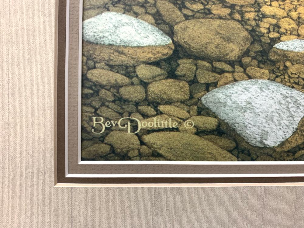 "Bev Doolittle's ""The Forest Has Eyes"" LE Print"