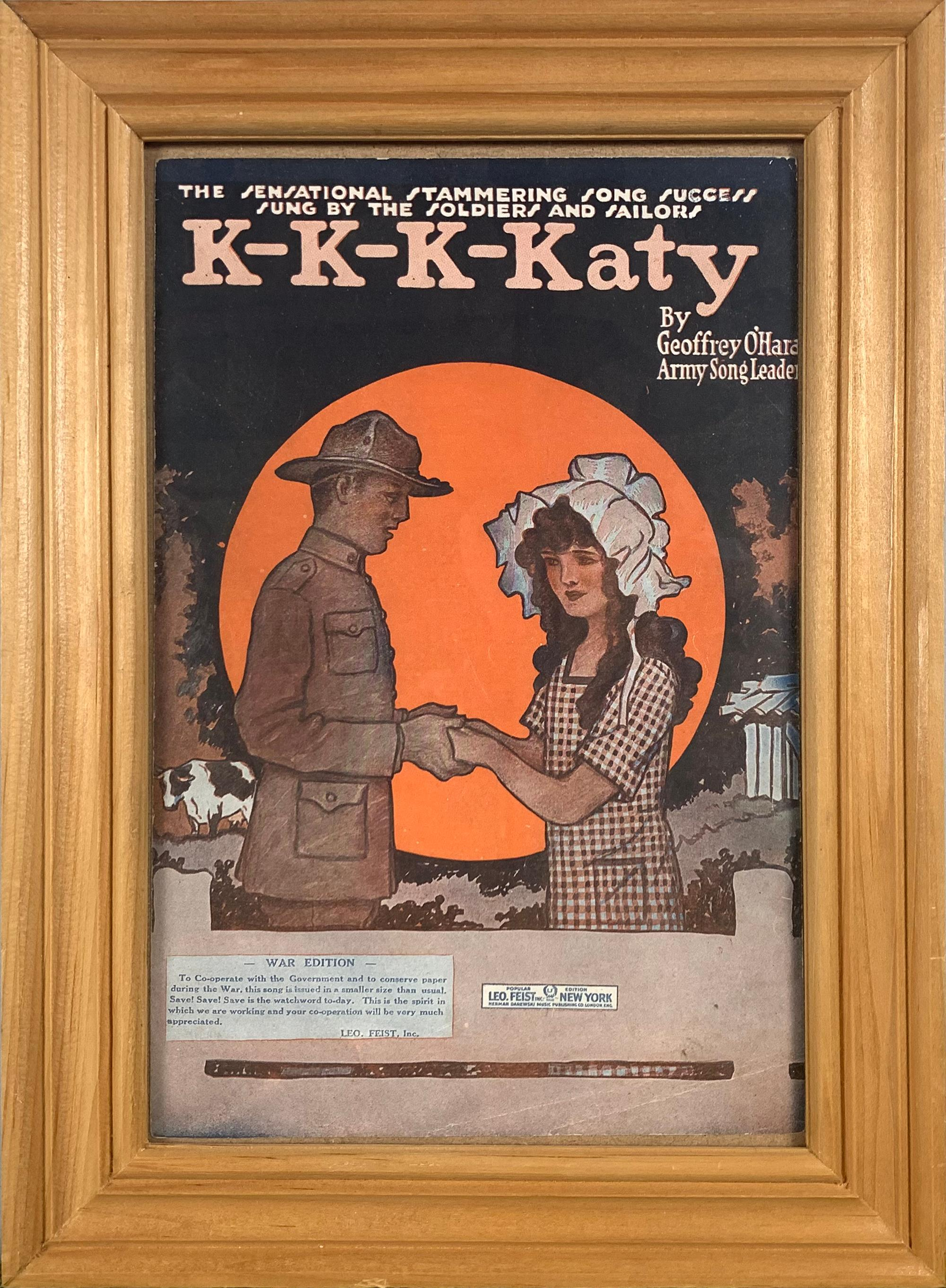 K-K-K-Katy by Geoffrey O'Hara Poster