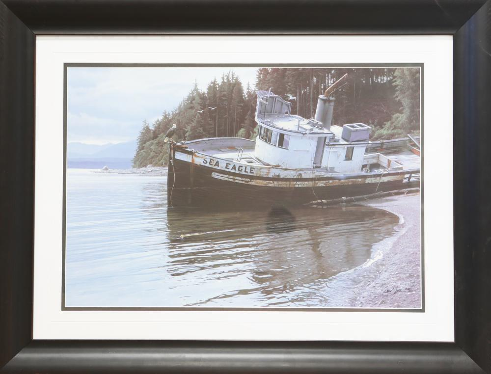 "Daniel Smith's ""Sea Eagle"" Limited Edition Framed Print"