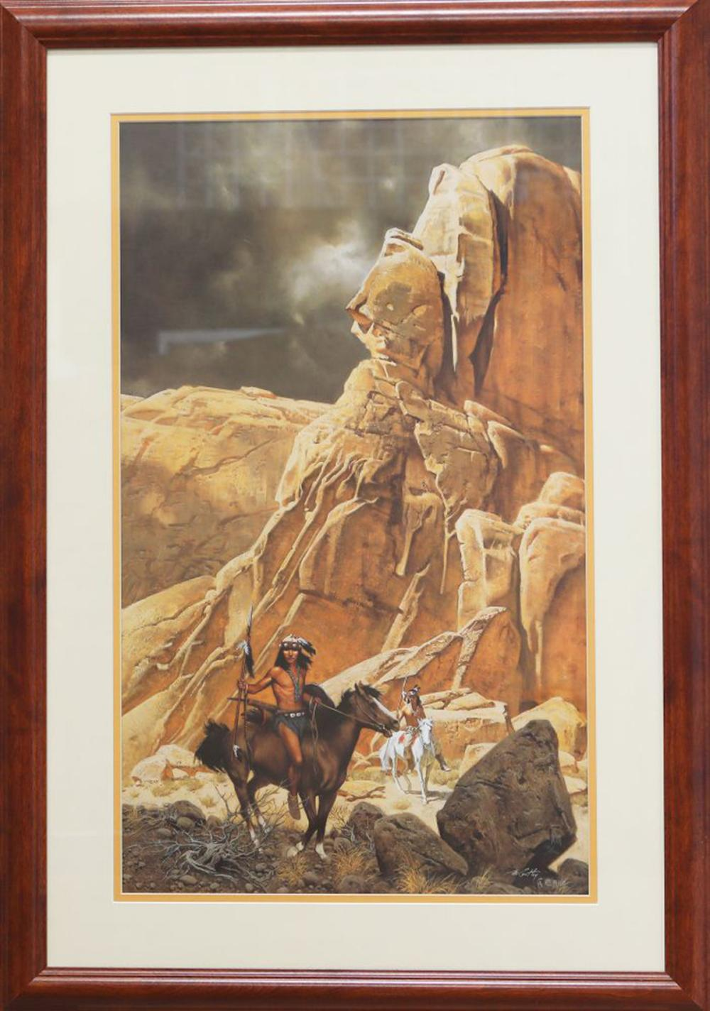 """Frank McCarthy's """"Canyon Lands"""" Limited Edition Framed Print"""