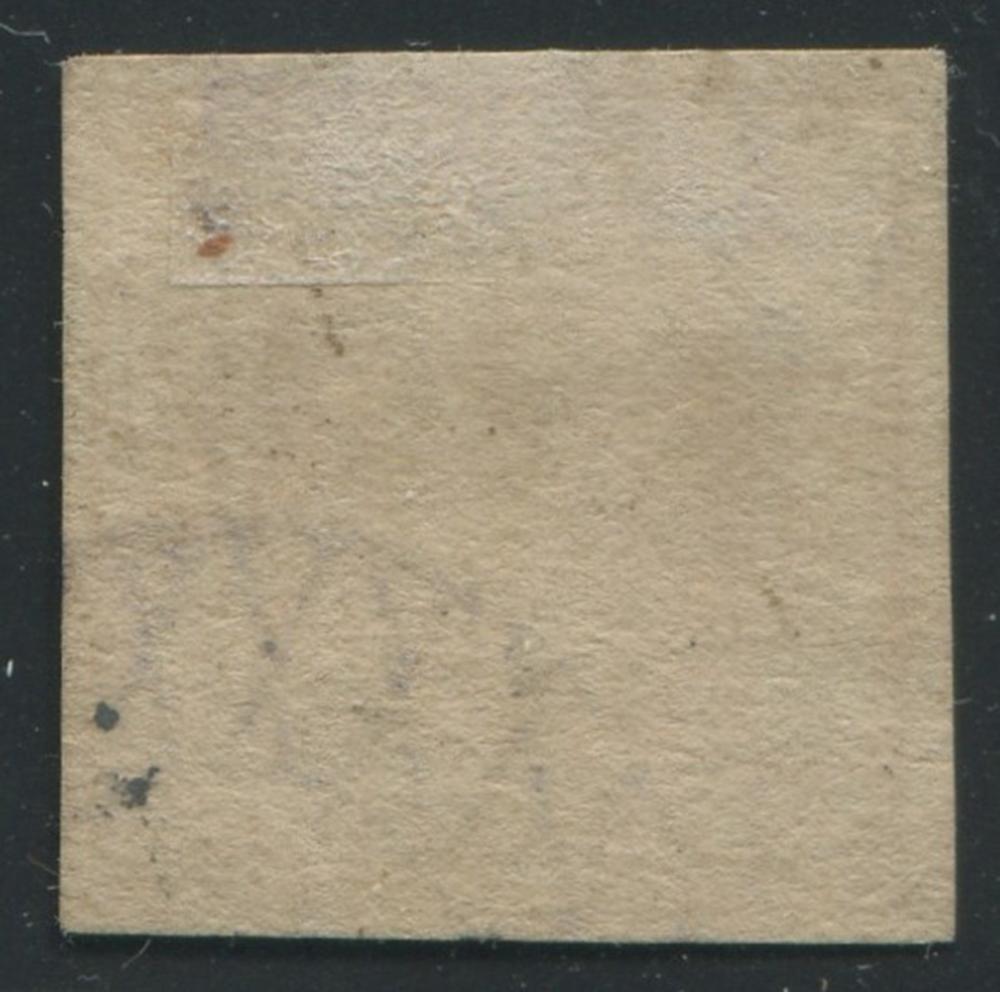 Saxony 1850 #1 3pf Brick Red Imperf VF