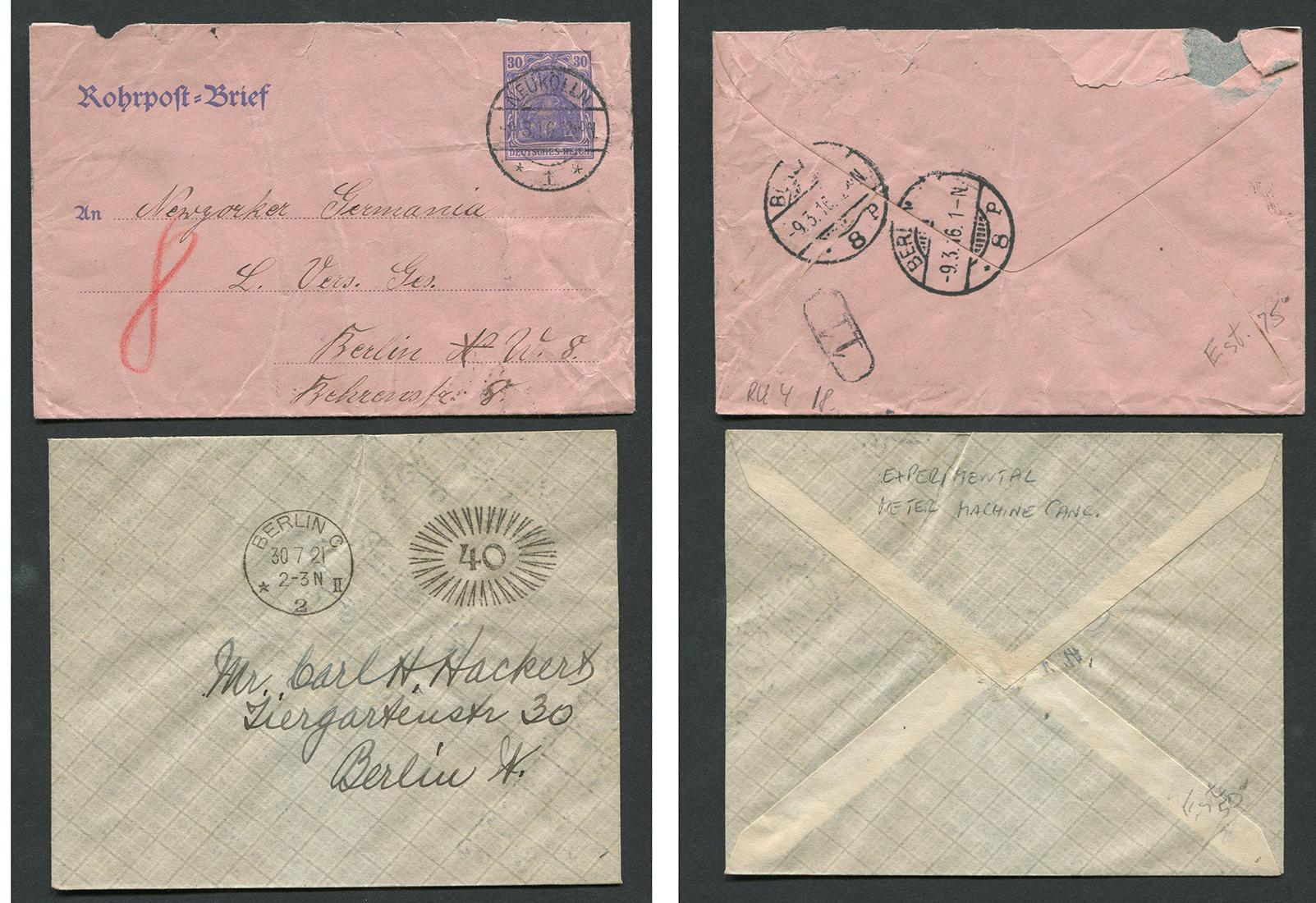 Germany Stamp Covers