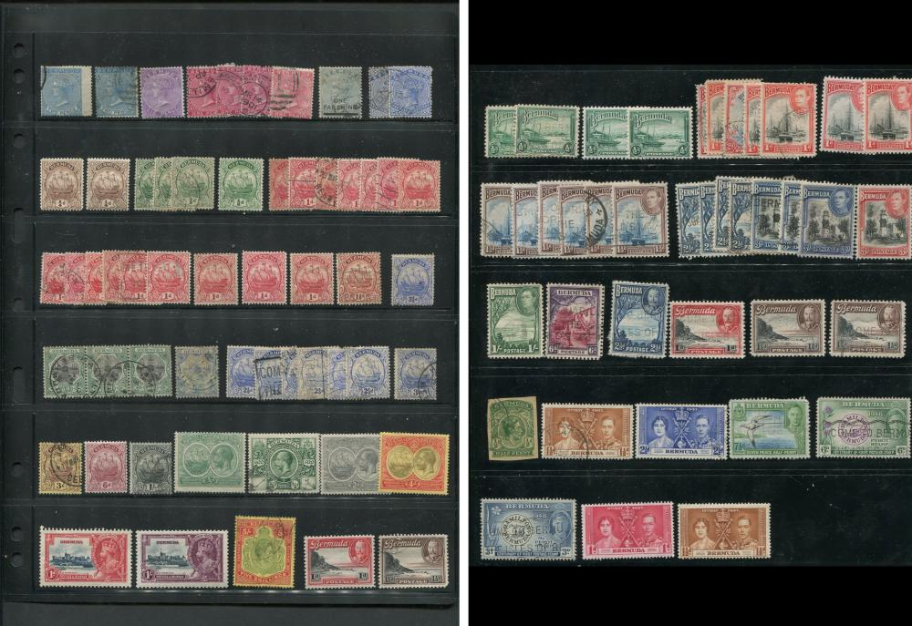 Bermuda Stamp Collection 1