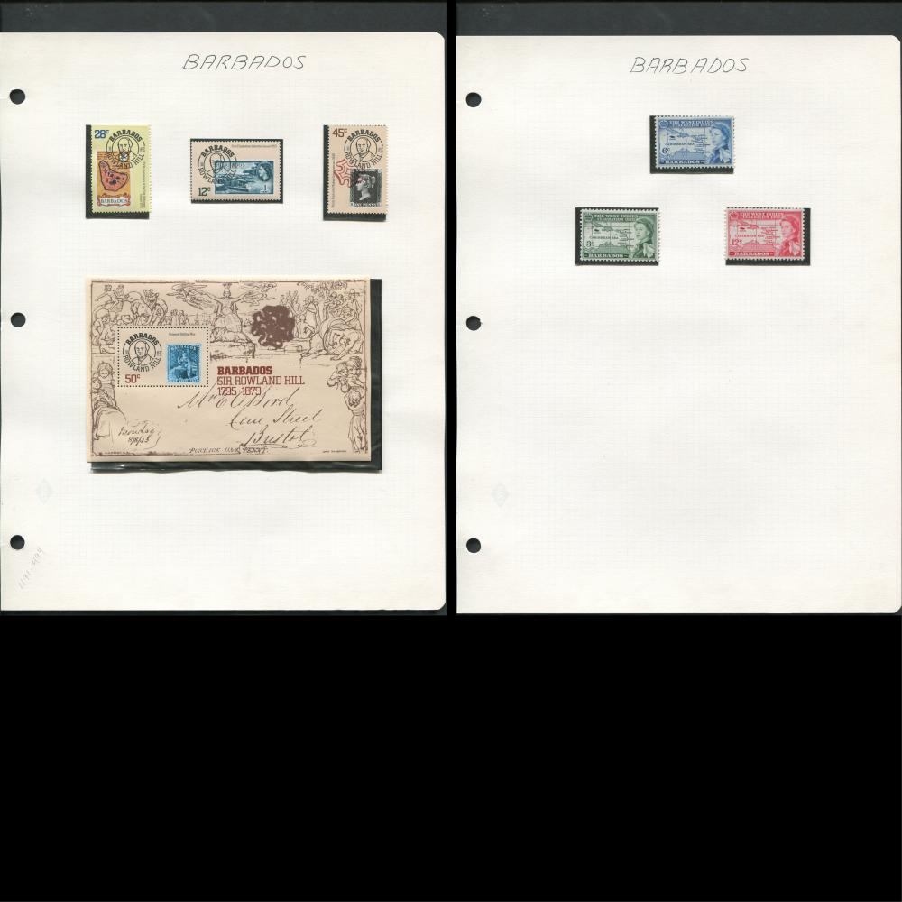 Barbados Stamp Collection 1