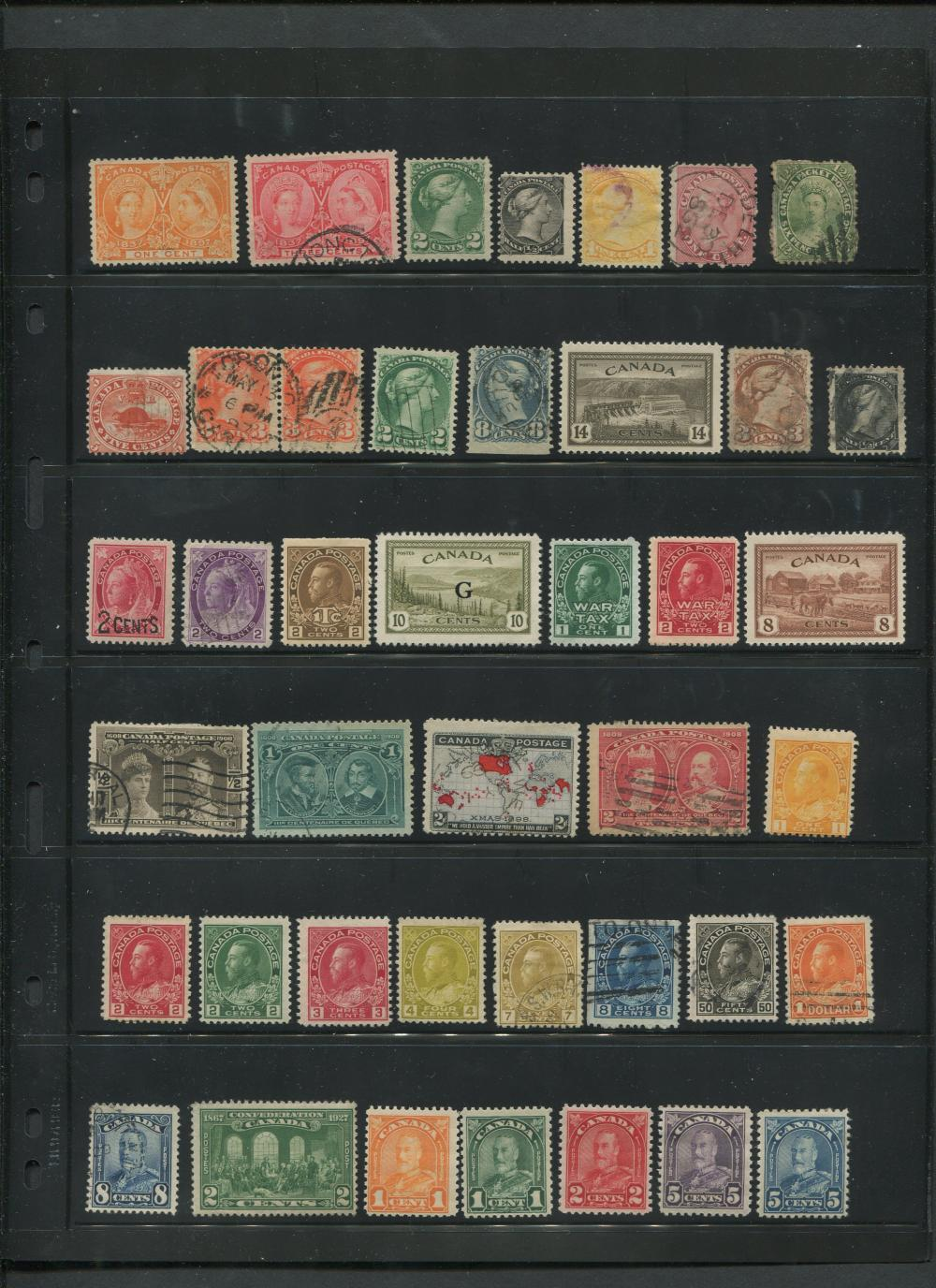Canada Stamp Collection 6
