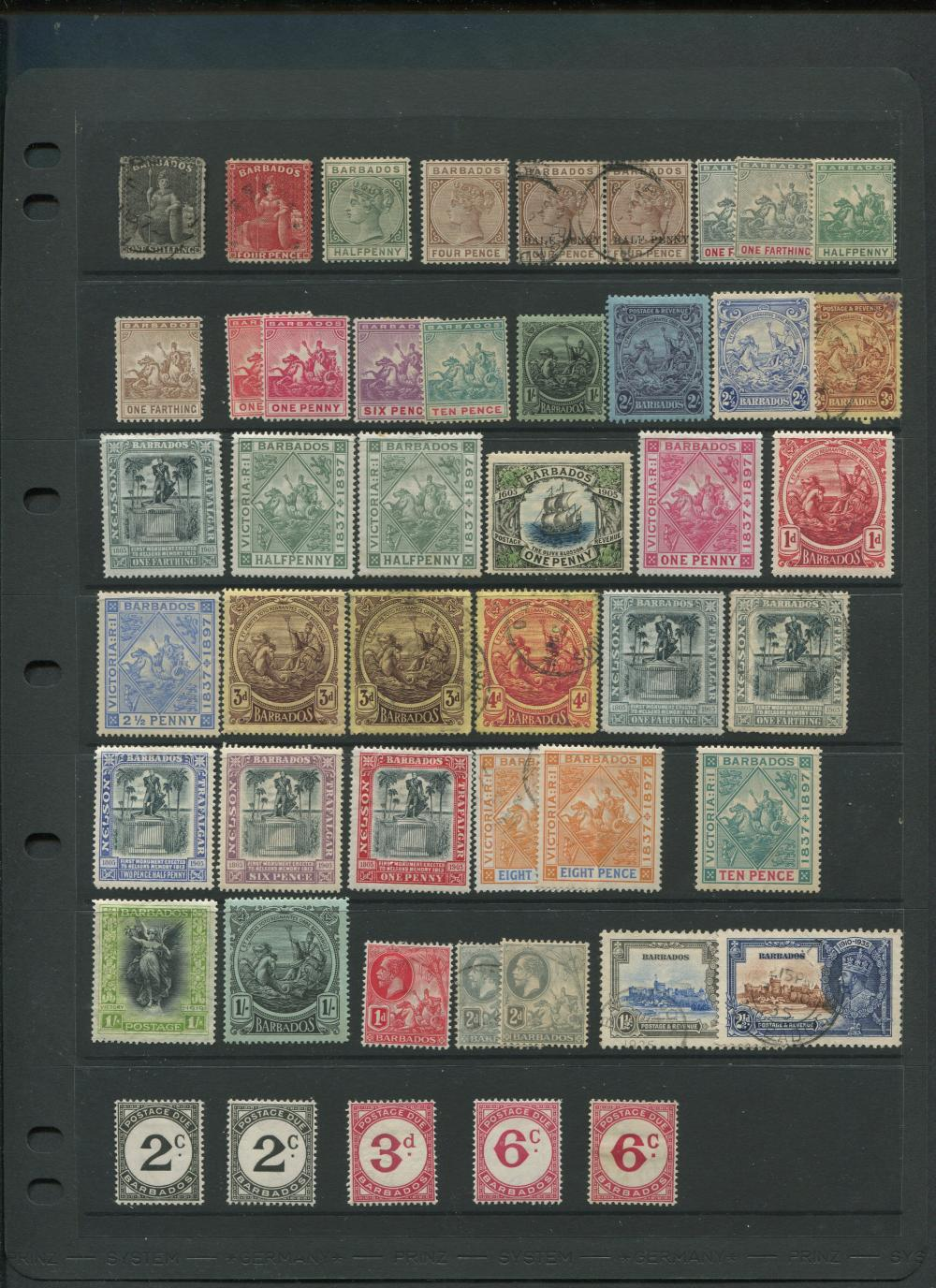 Barbados Stamp Collection 2