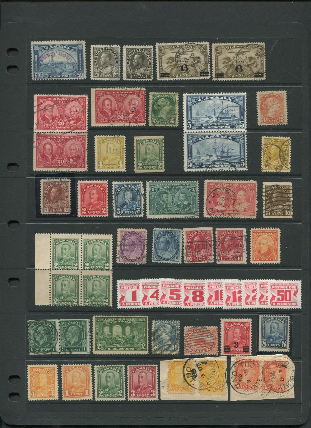 Canada Stamp Collection 13