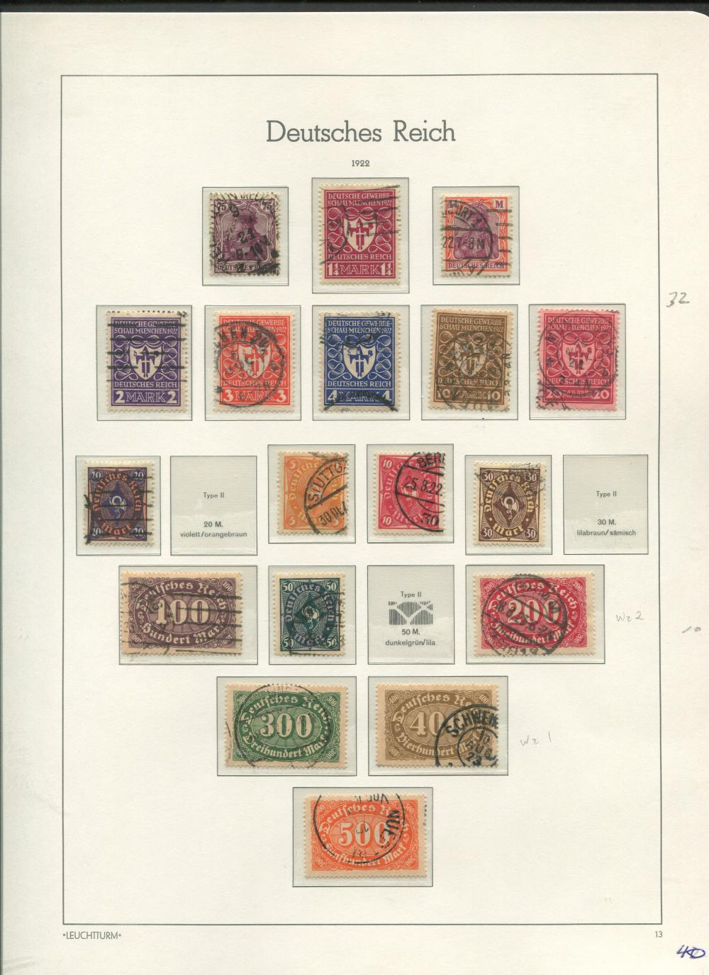 Germany Stamp Collection 2
