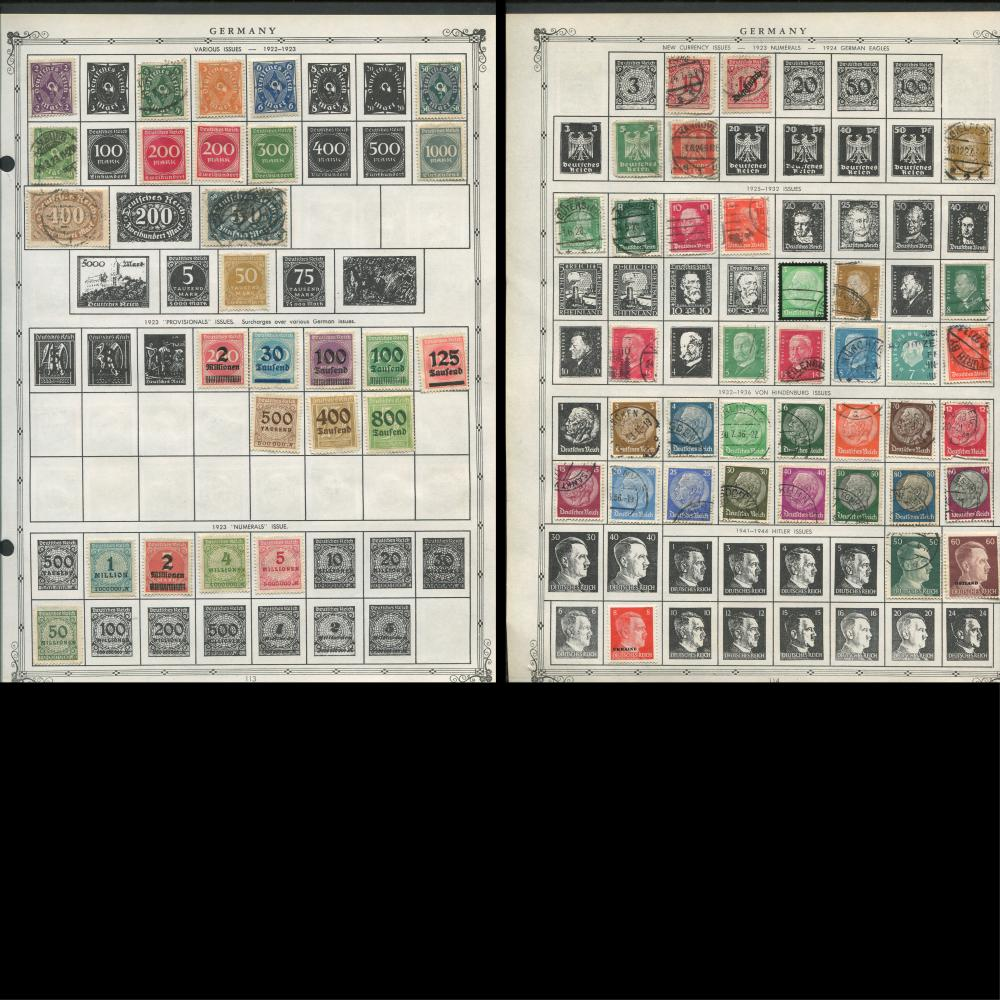 Germany Stamp Collection 3