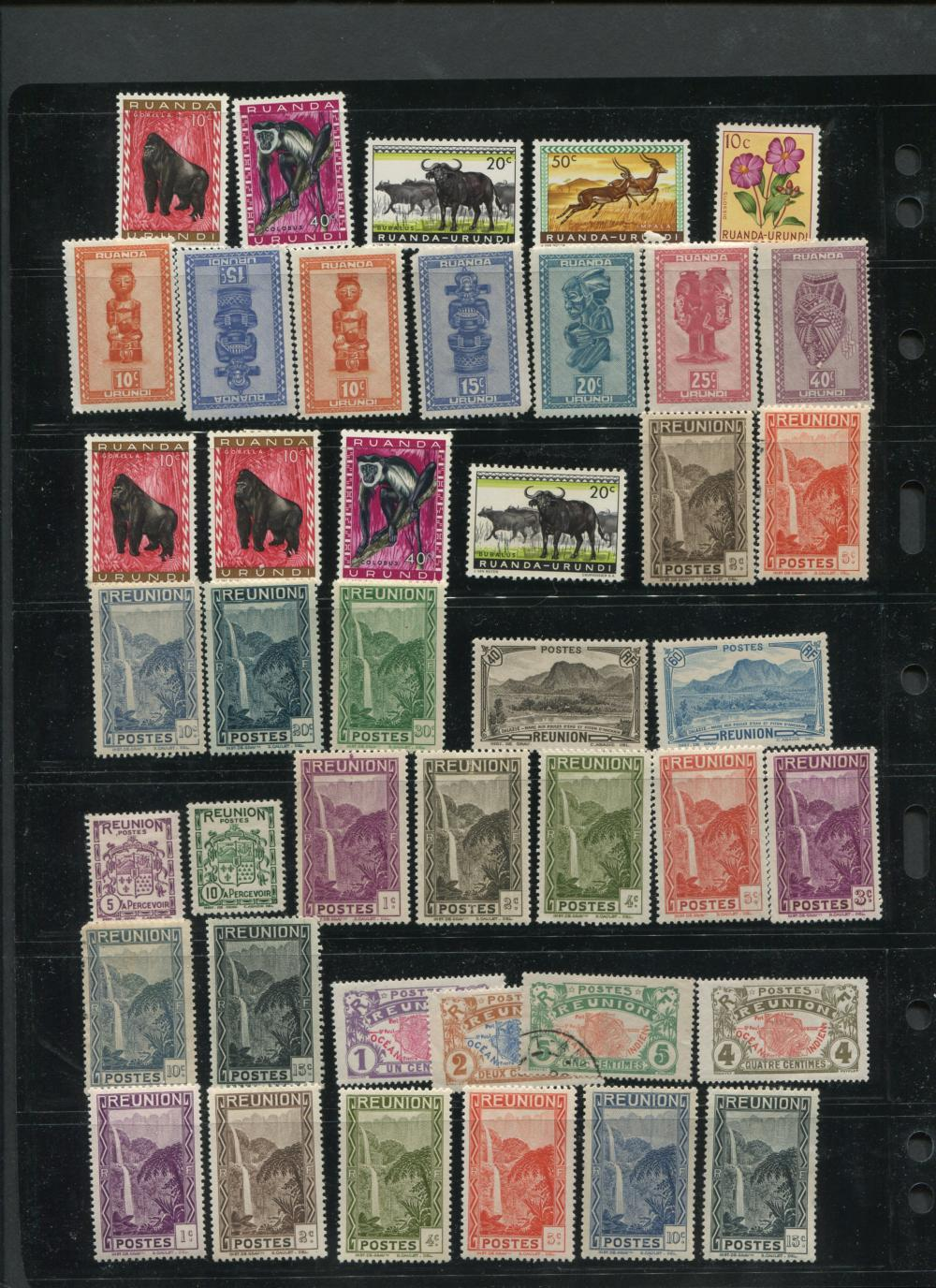 Africa Stamp Collection 1