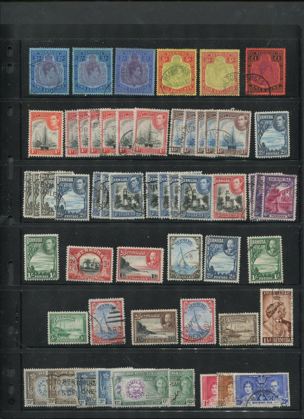 Bermuda Stamp Collection 2