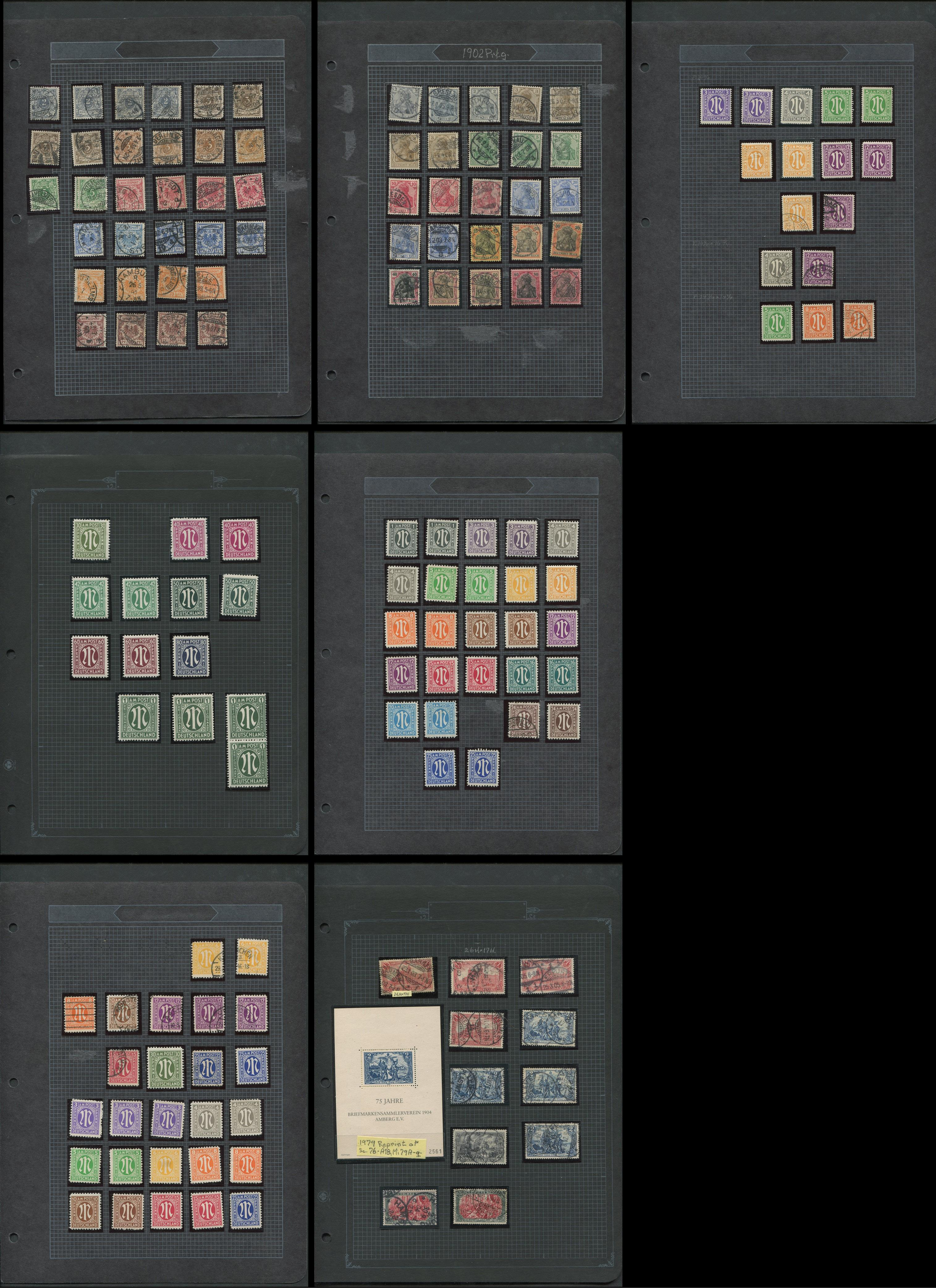 Germany 1889- Early Stamp Collection