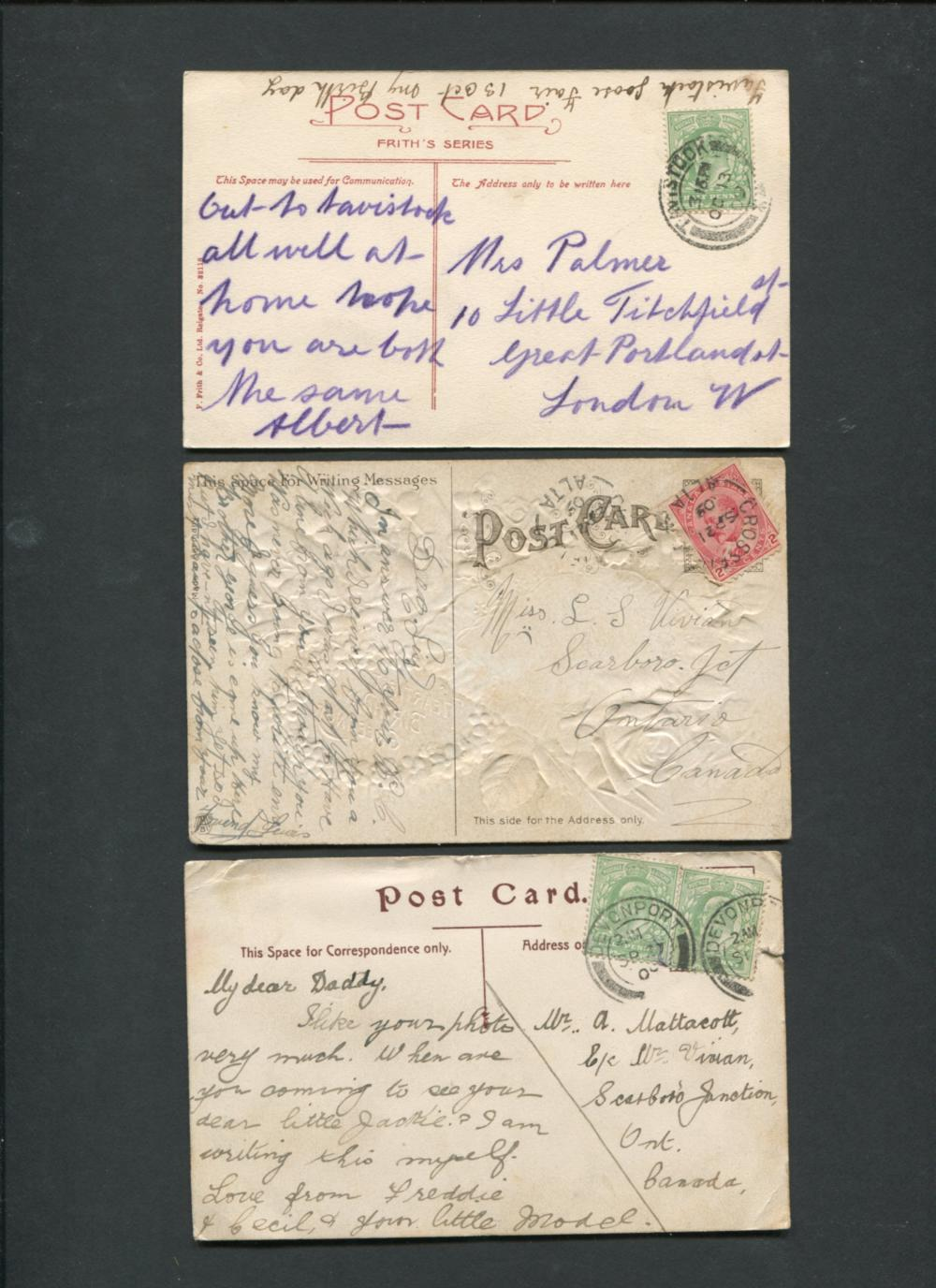 Canada Stamp and Postcard Collection