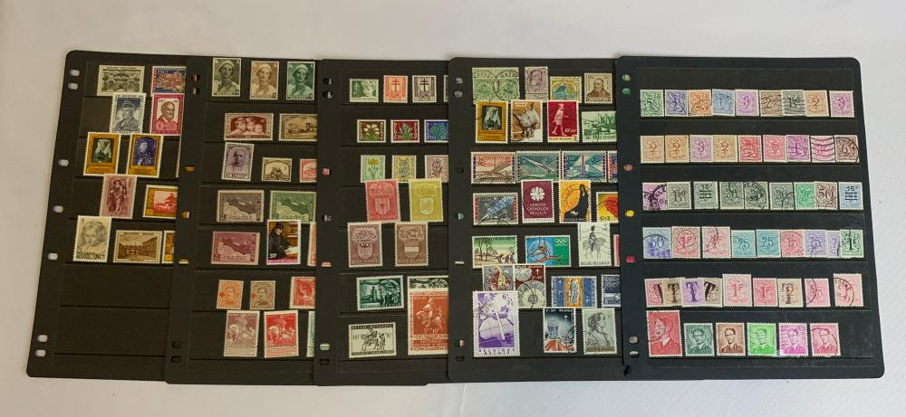 Belgium Stamp Collection 2