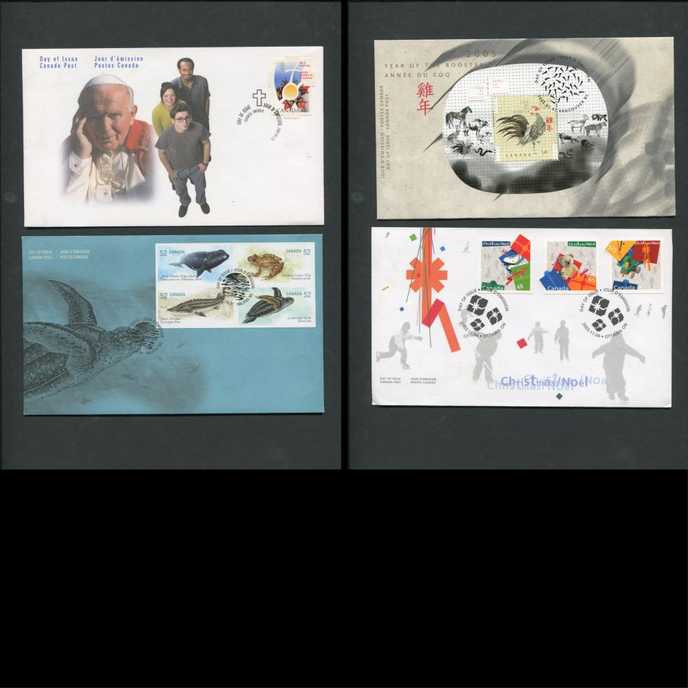 Canada First Day Covers Collection 4