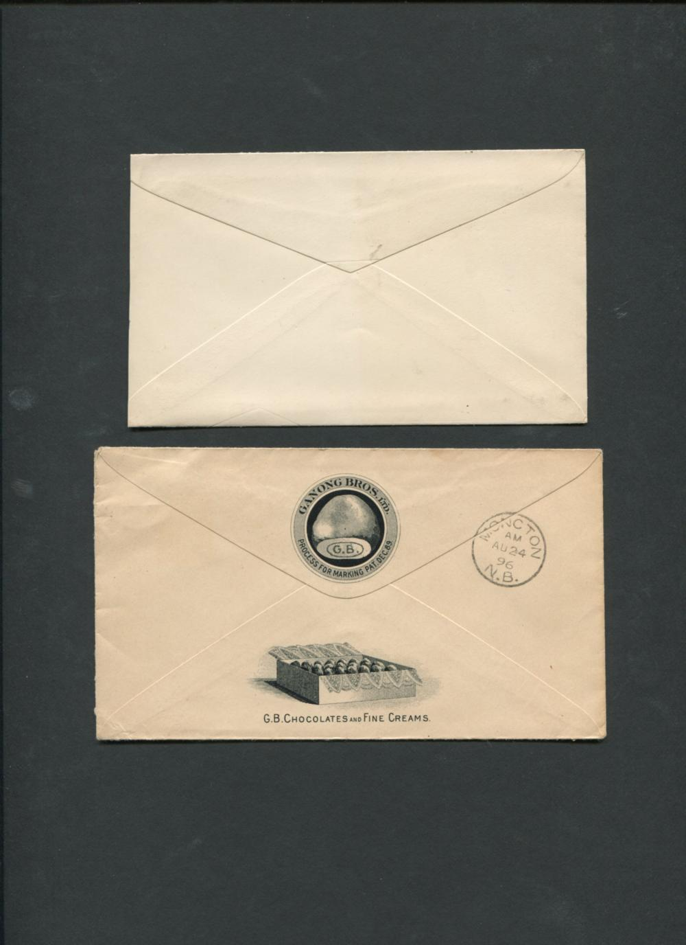 Canada Newbrunswick Advertising Covers Collection