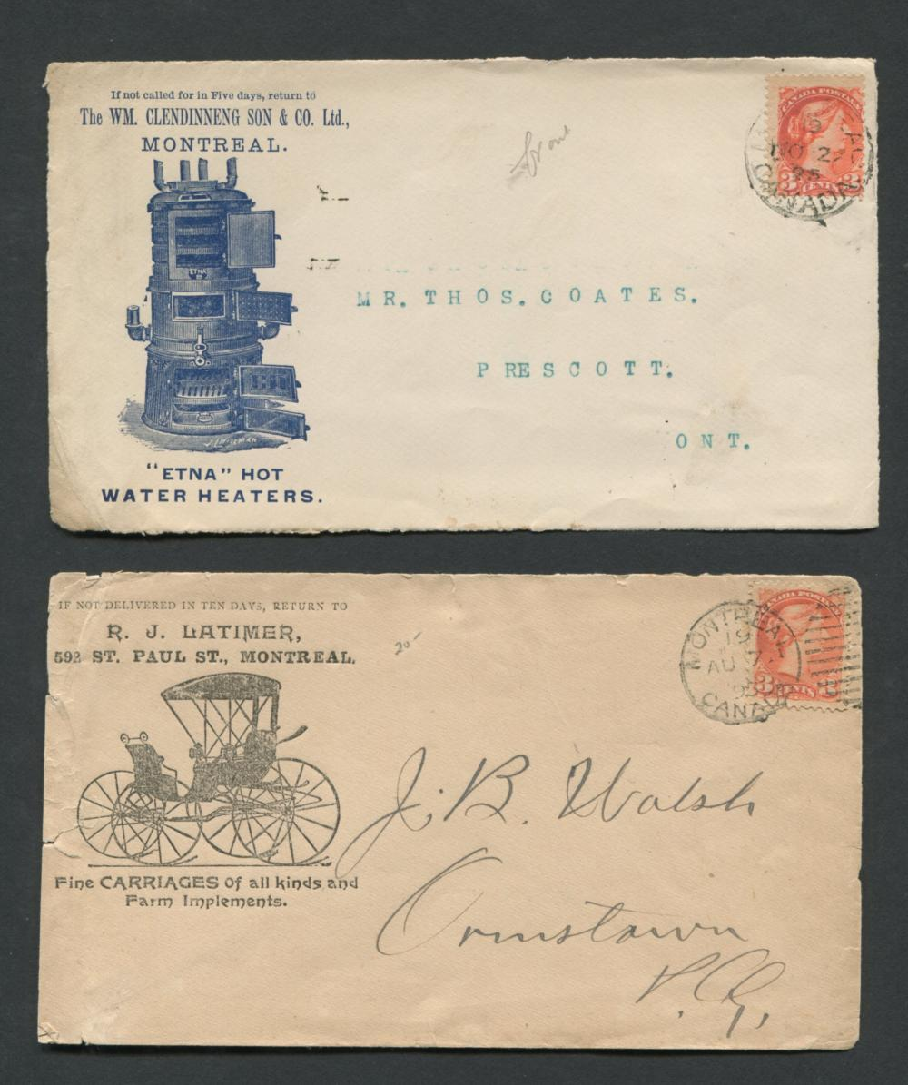 Canada Advertising Stamp Covers Collection 2