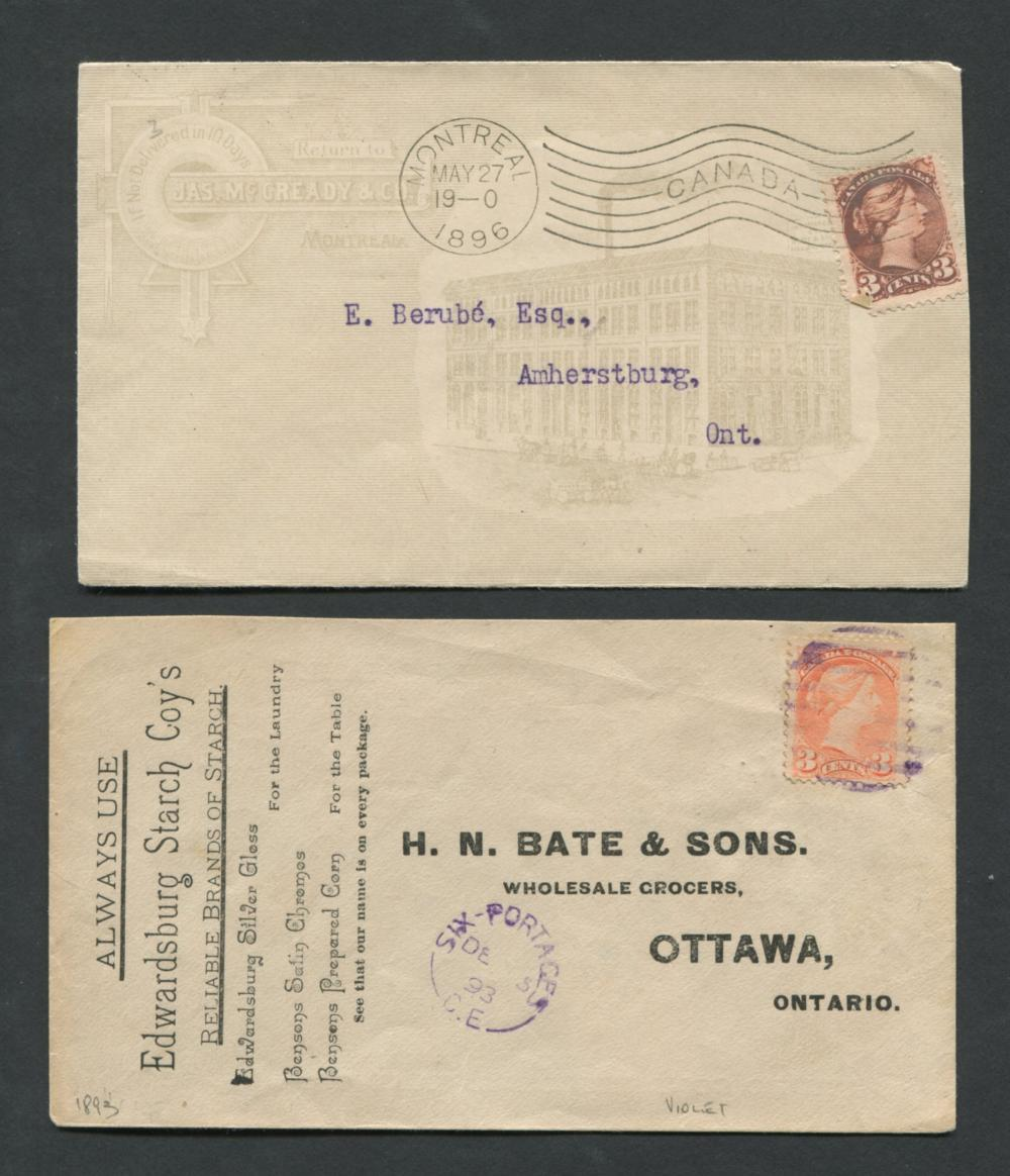 Canada Advertising Stamp Covers Collection 4