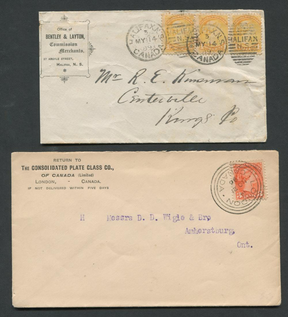 Canada Advertising Stamp Covers 3