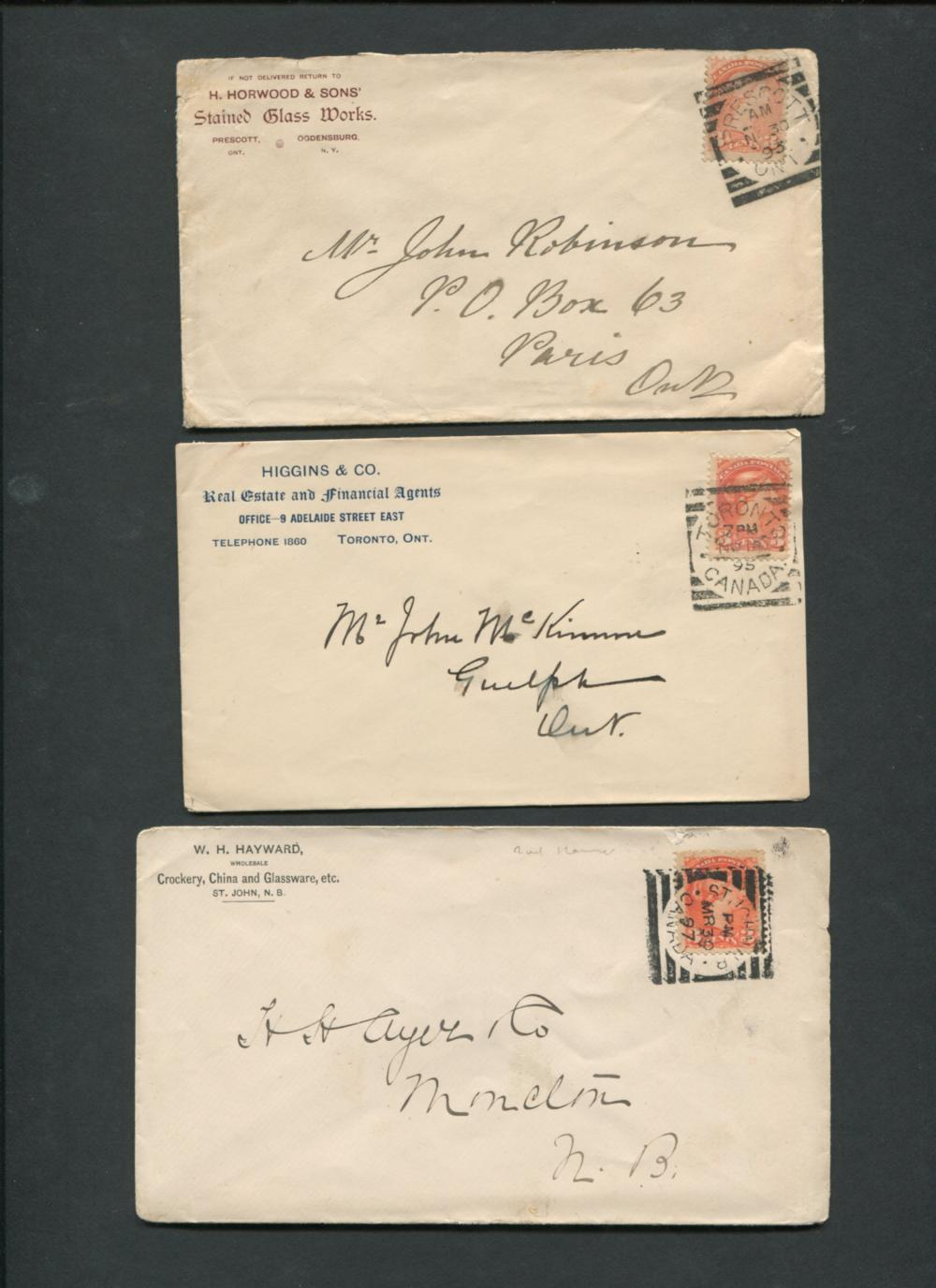Canada Stamp Covers Collection