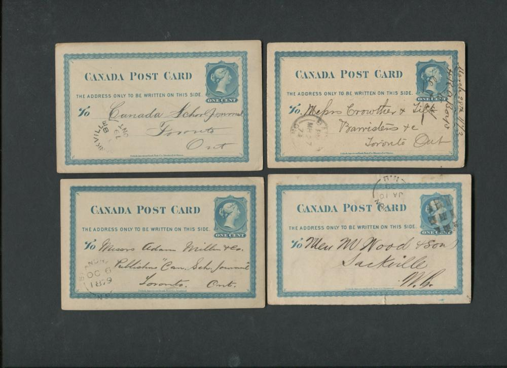 Canada Victoria Post Card Collection