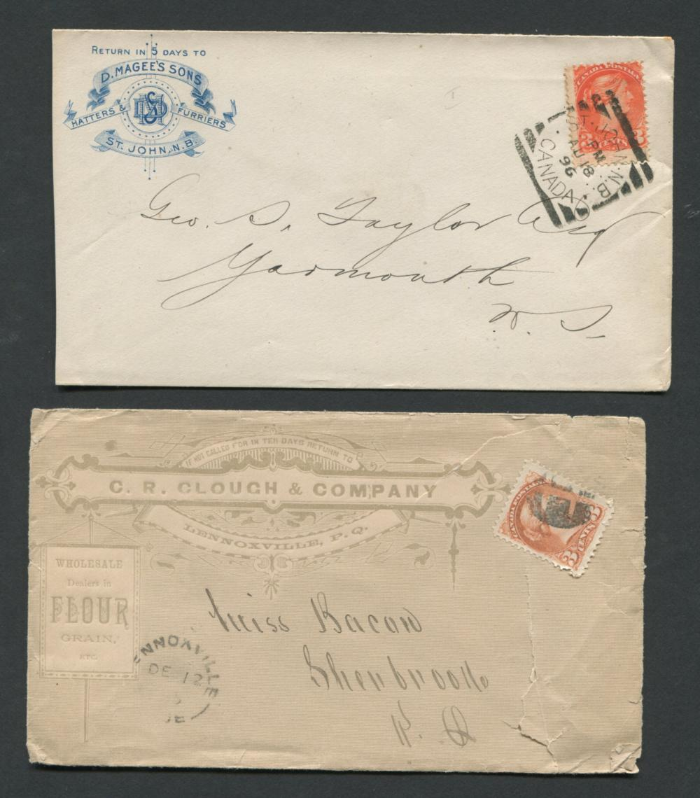 Canada Advertising Stamp Covers 6