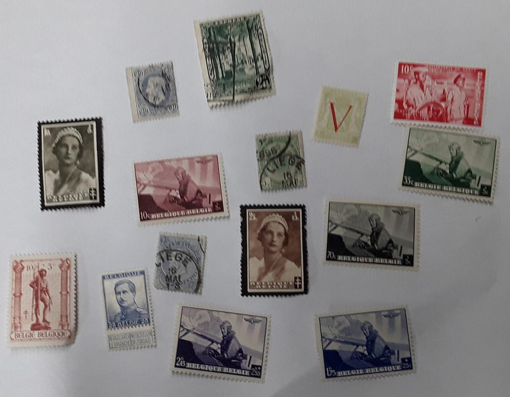 Belgium Stamp Collection 3