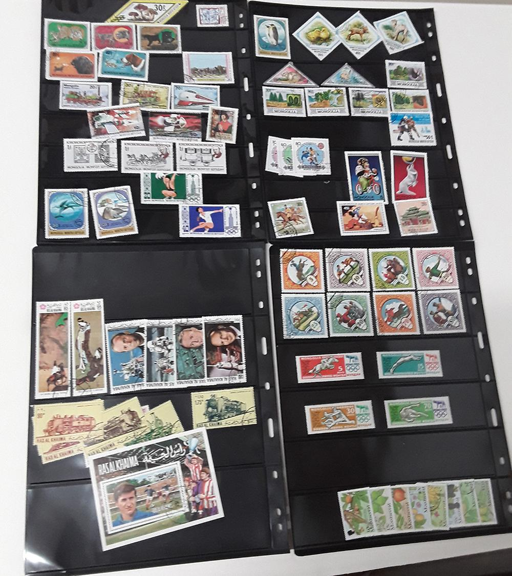 Asian Region Stamp Collection 1